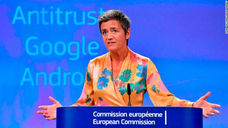 Google Fined by EU 2018