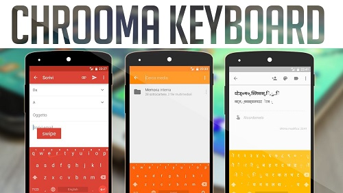 Crooma Keyboard Android App Apk